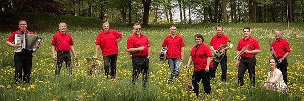 Promotion De Kuchn Lunzner Werbefoto Lunzenau Blasmusik Schlager
