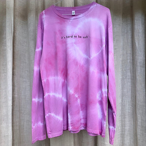 HARD TO BE SOFT - PINKY PURPLE - L