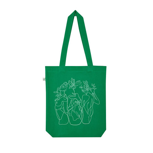 RESILIENCE GREEN TOTE
