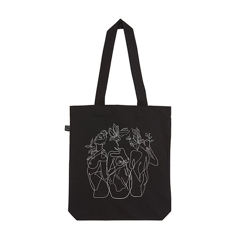 RESILIENCE BLACK TOTE