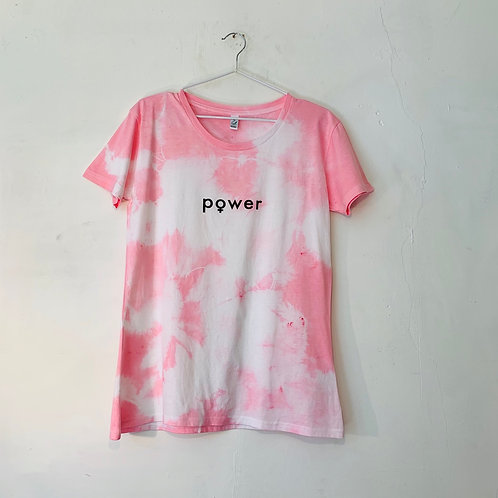 PINK POWER T - FITTED XL