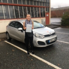More Test Success In Sheffield With Stephen Mosley's Driving School.