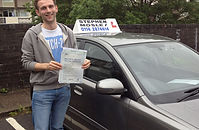 Driving lesson test pass in sheffield