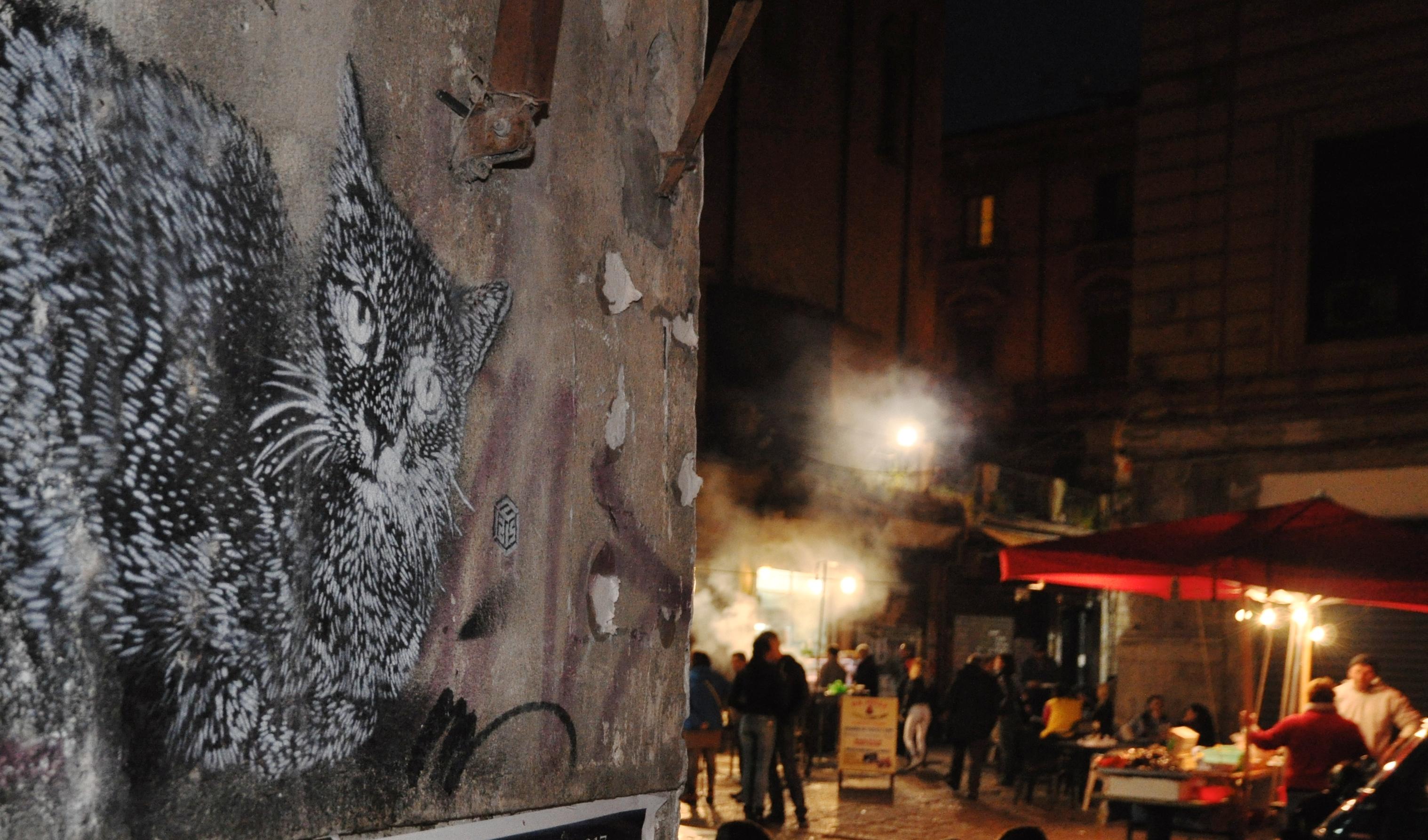 Palerme, Street food Vucciria