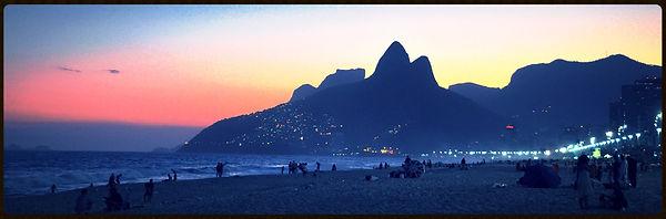 Rio vue de la plage Ipanema