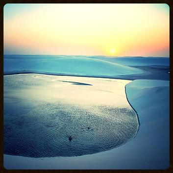 Brésil, Dunes Lencois