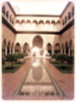 Séville, visite palais