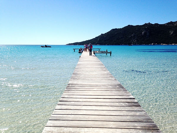 Santa Giulia plage Sud de la Corse