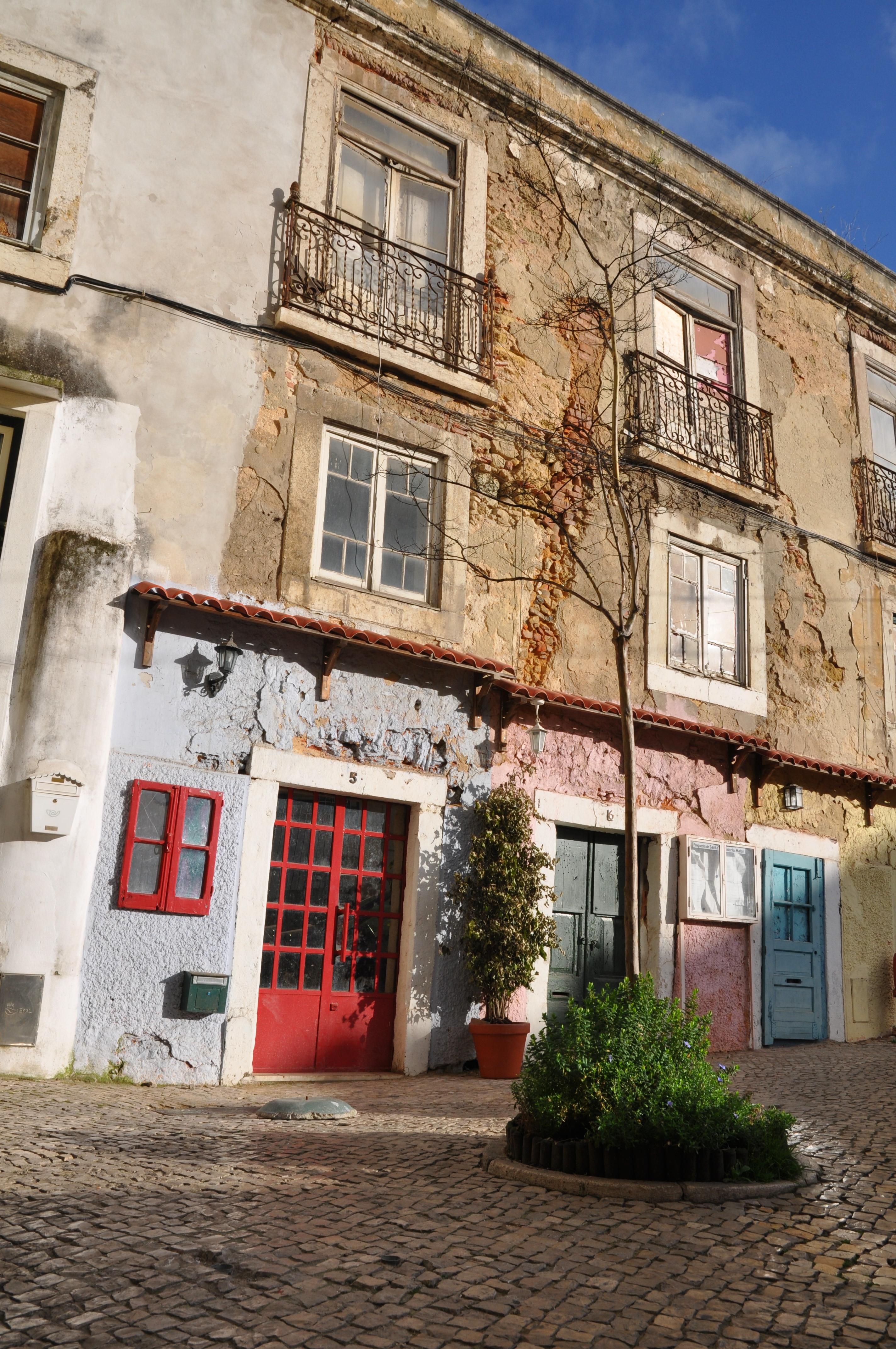 rue colorée Lisbonne