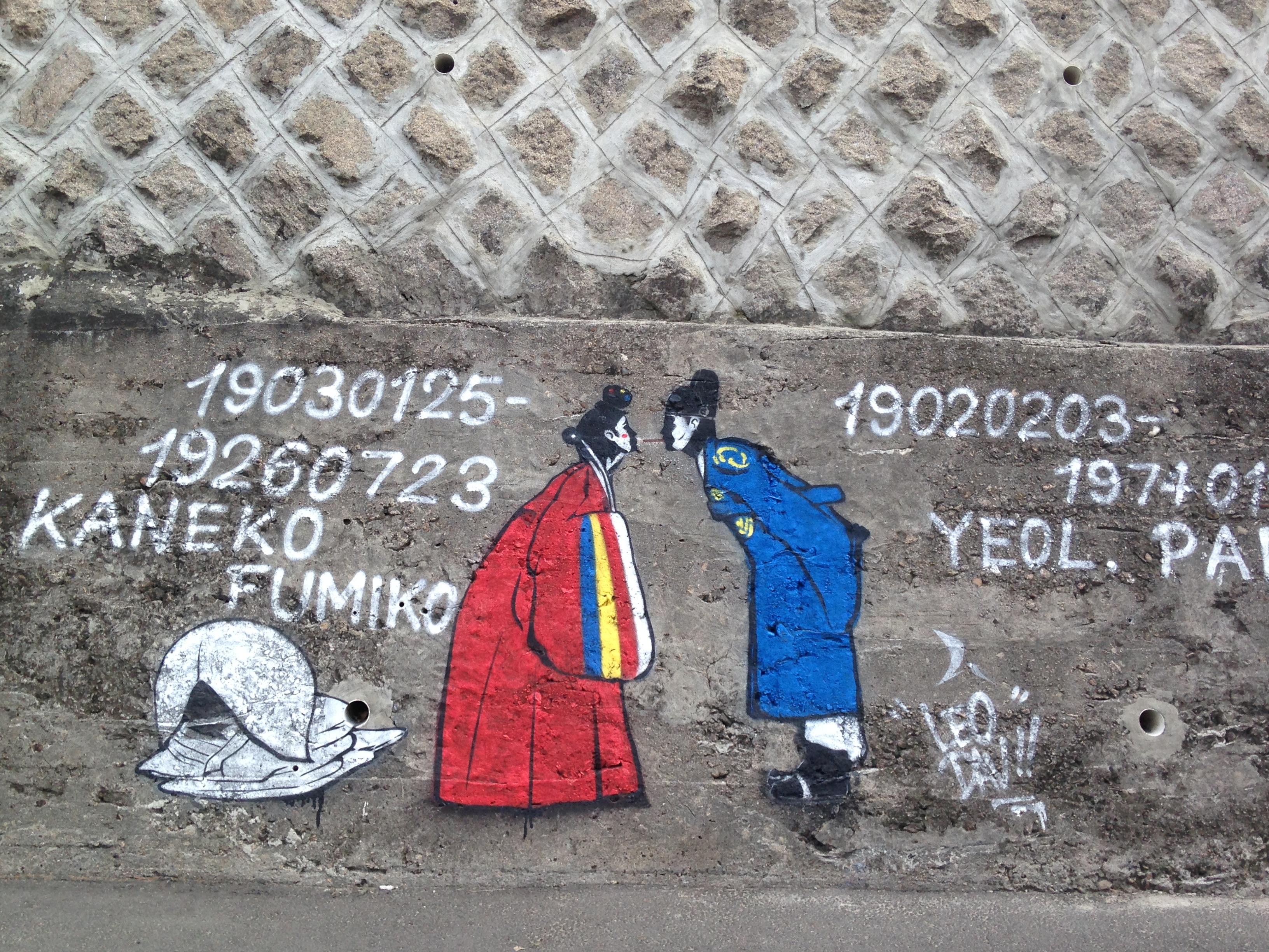 Graphisme dans la rue