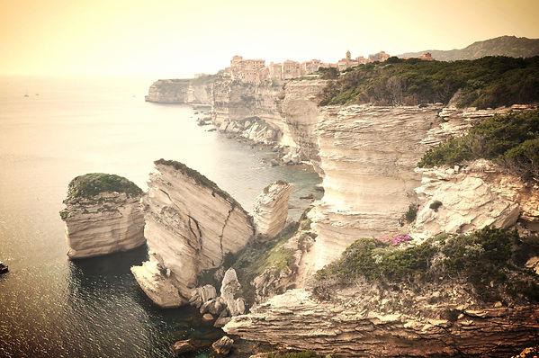 Bonifacio falaises