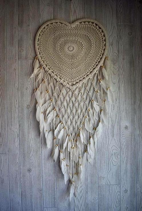 Heart Macrame Dream Weaver