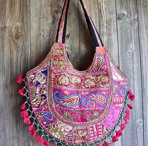 Bohemian shoulder bags, shoulder bags, gypsy shoulderbags, embroidered bag