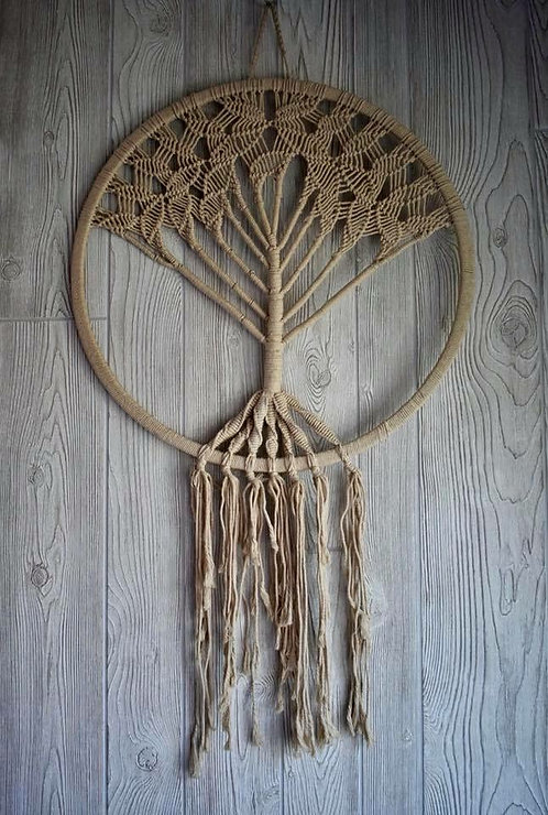 Macrame Tree of Life Dream Weaver