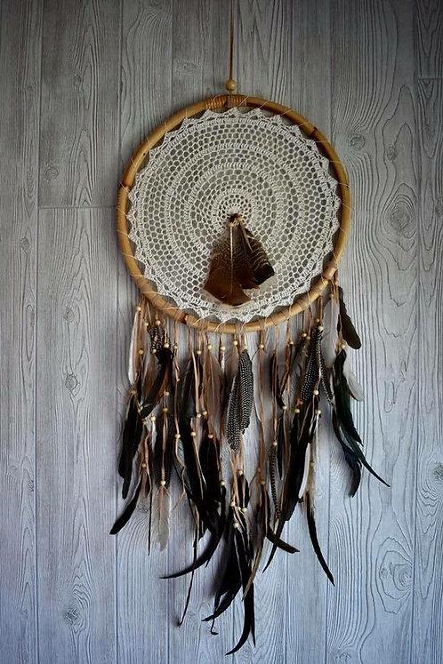 Beautiful Multi-Feathered Dream Weaver