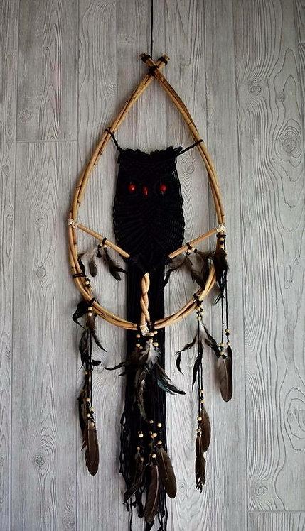 Tribal Owl Dream Weaver