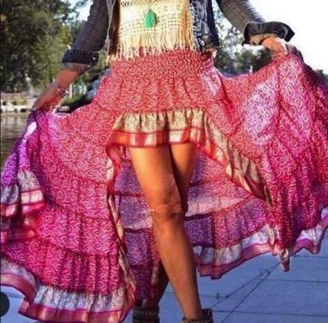 Divine Goddess Ruffle Skirt