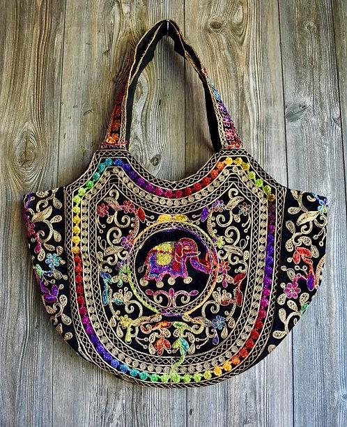 Gorgeous Embroidered Velvet Bags