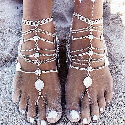 Bohemian Anklets