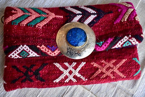 Amazing Clutch Purses made of Moroccan carpets!!