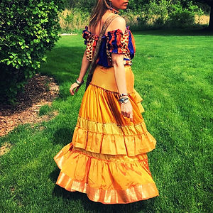gypsy skirts, goddess skirts, colorful skirts, ruffled skirts, festival clothing