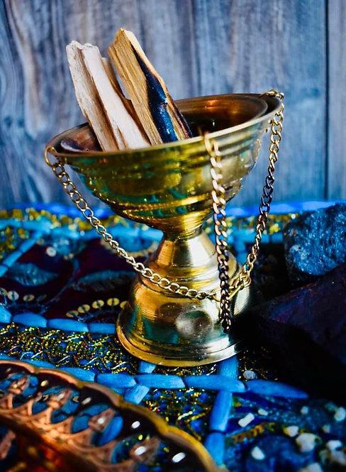 Big Copper Incense Burner From Egypt