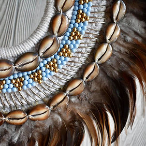 ceremonial necklac necklace, festival necklace, seashell necklace,bone necklace, tribal necklace, feathered necklace, festival necklace, goddess neclce