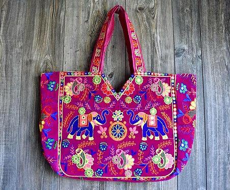 Gorgeous Embroidered Velvet Bag