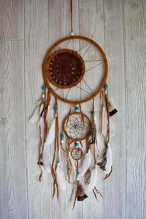 Beautiful Tribal Beaded Dream Weaver