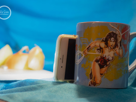 Onions and Wonder Woman...The Truth behind the Photo