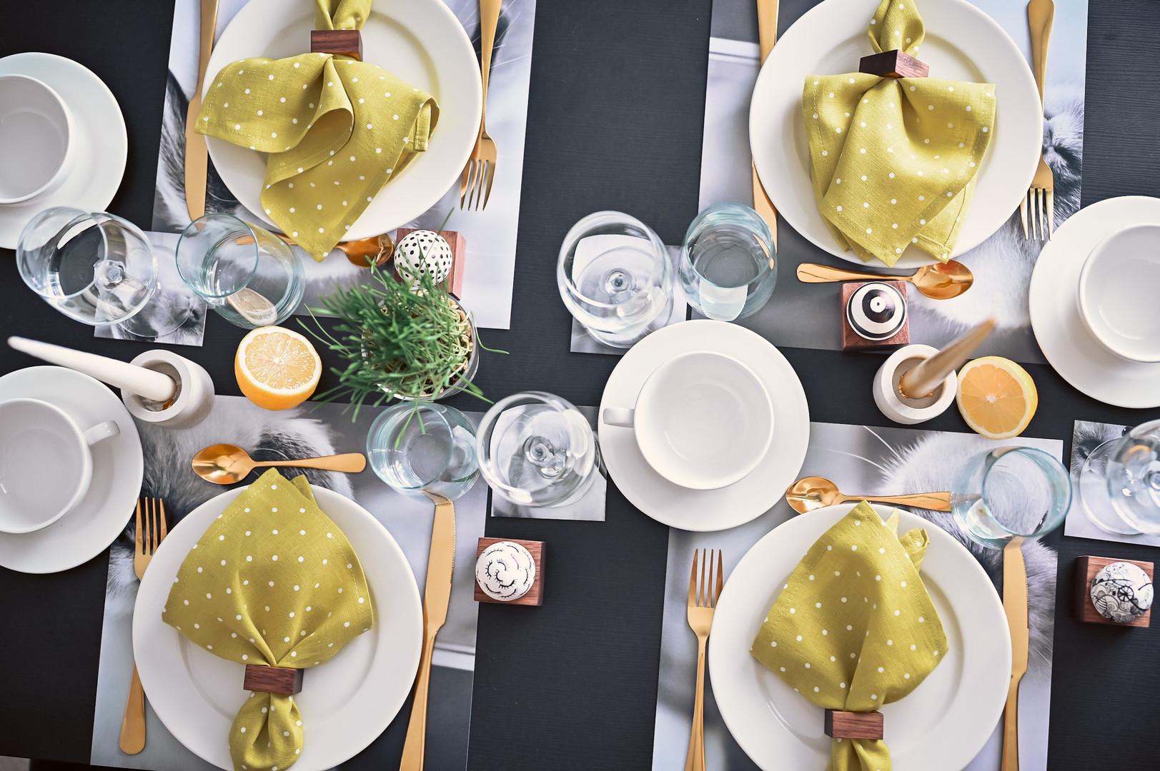 galda klājuma komplekts svētkiem un ikdienai, hugoevent, pasākumu oragnizēšana, pasākumi, online pasākumi, idejai dāvanai, lieldienas, svētki, table setting, table set, trauki, idejas dāvanai, idejas svētkiem, prieks, jaunums, dives deko, mājai