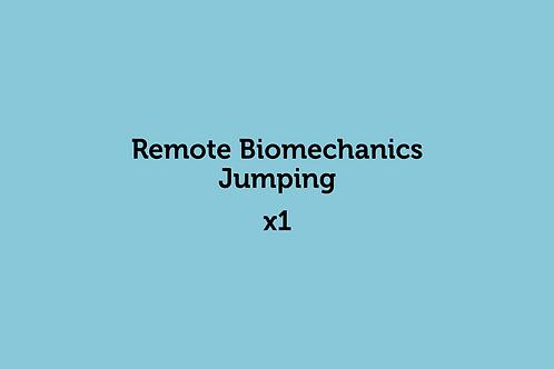 Remote Biomechanics Jumping (x1)
