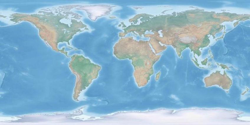 Montessori mapa - Mapujeme Svět