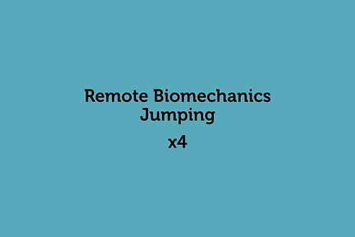 Remote Biomechanics Jumping (x4)