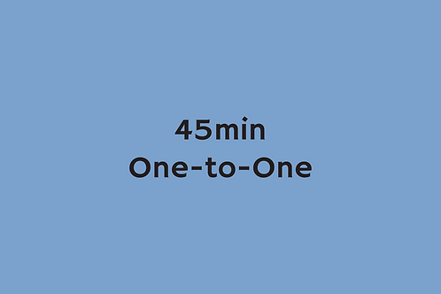 45min One-to-one (Centyfield 17/10/20)