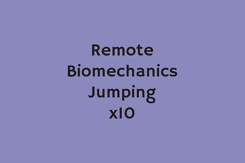 Remote Biomechanics Jumping (x10)