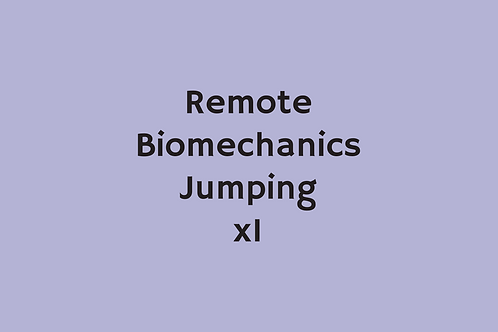 Remote Biomechanics Jumping (x1)