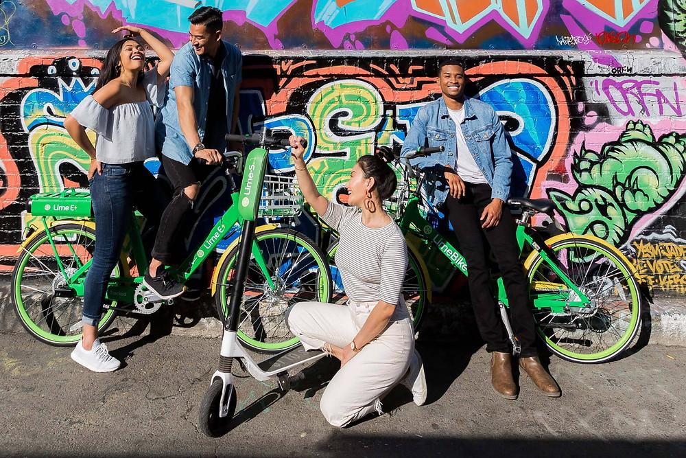 Bike- und E-Scooter-Sharing von Lime