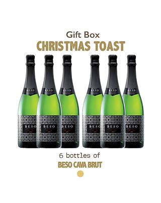 Gift Bag - Christmas Toast