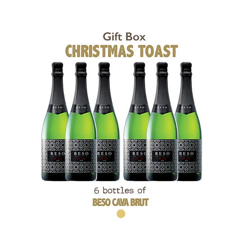 Gift Bag - Christmas Toast