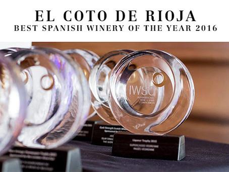 El Coto de Rioja Best Spanish Winery of 2016