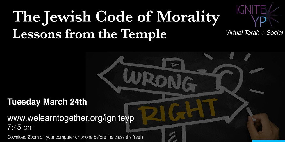The Jewish Code of Morality