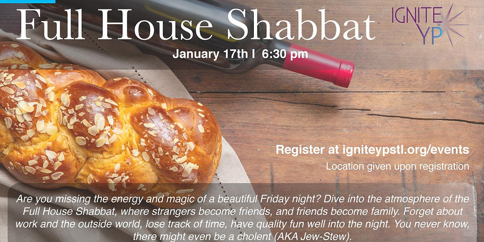 Full House Shabbat!