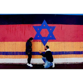 In 2018, after we cleaned the Berlin Wall of antisemitism.