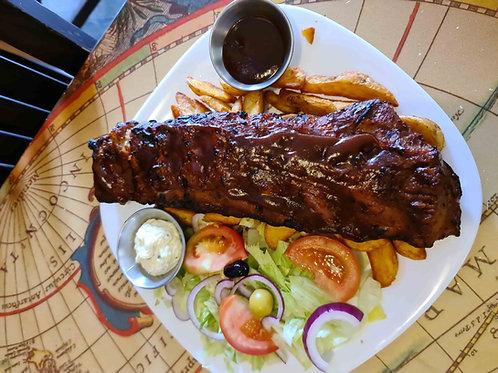 BBQ RIBS ESTILO USA