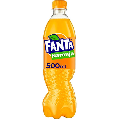 BOTELLA FANTA NARANJA 0,5L