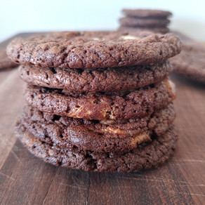 Brownie súkkulaðibitakökur