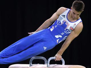 Wrist pain in gymnastics