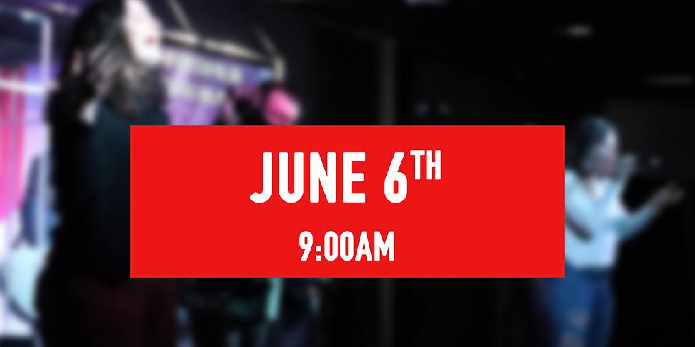 June 6th - 9AM Service