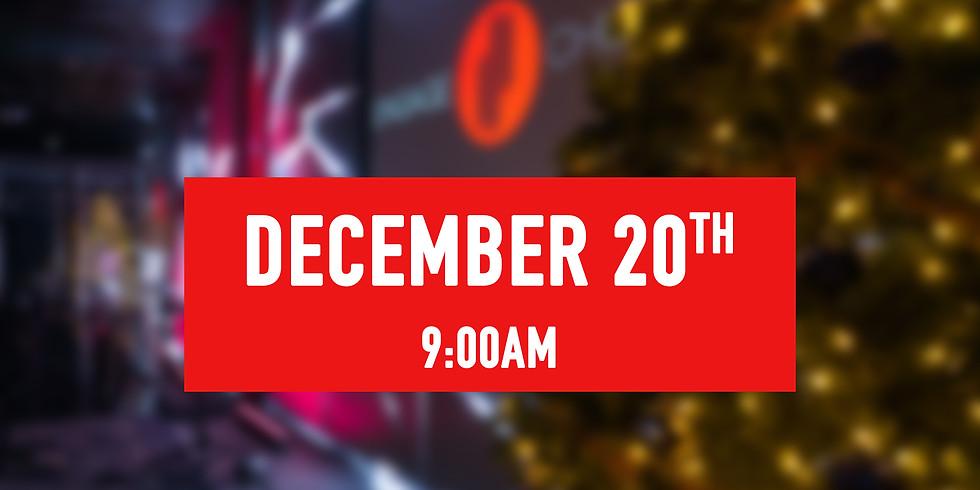 December 20th - 9AM Service